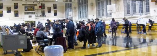 Madison High School polling